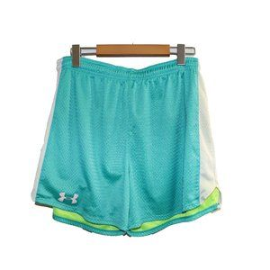 👟 3/$45 - Green Mesh Under Armour Workout Shorts